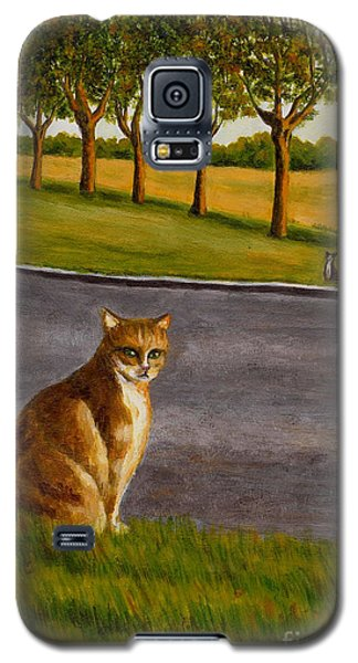The Obscure Communication Between Cats Galaxy S5 Case by Jingfen Hwu