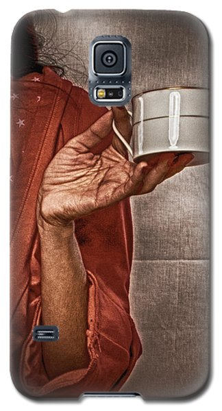 Galaxy S5 Case featuring the photograph The Offer ... by Chuck Caramella
