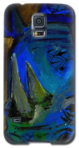 The Old Blue Rhino Galaxy S5 Case