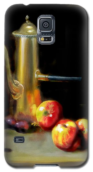 Galaxy S5 Case featuring the painting The Old Coffee Pot by Barry Williamson
