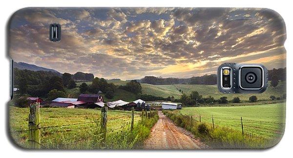 The Old Farm Lane Galaxy S5 Case