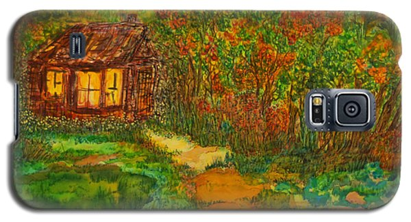 Galaxy S5 Case featuring the painting The Old Homestead by Susan D Moody