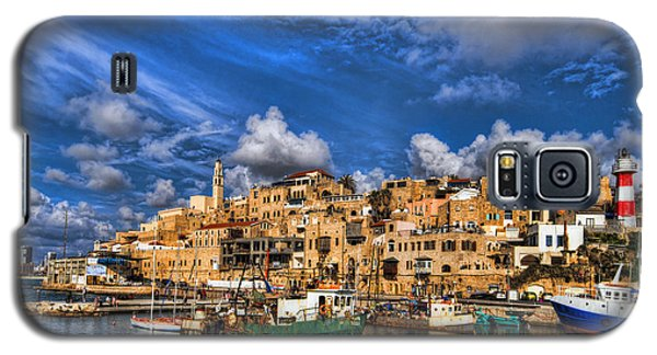 the old Jaffa port Galaxy S5 Case by Ron Shoshani