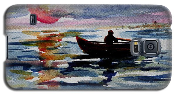 The Old Man And The Sea Galaxy S5 Case by Xueling Zou