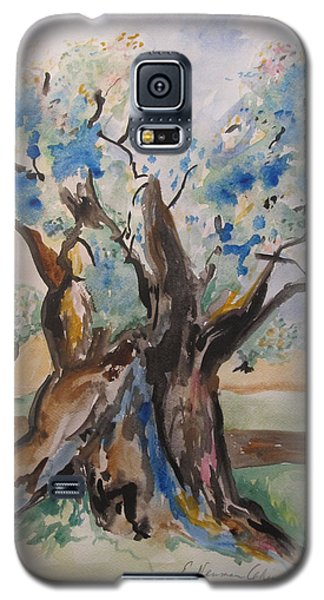 The Old Olive Tree Galaxy S5 Case by Esther Newman-Cohen