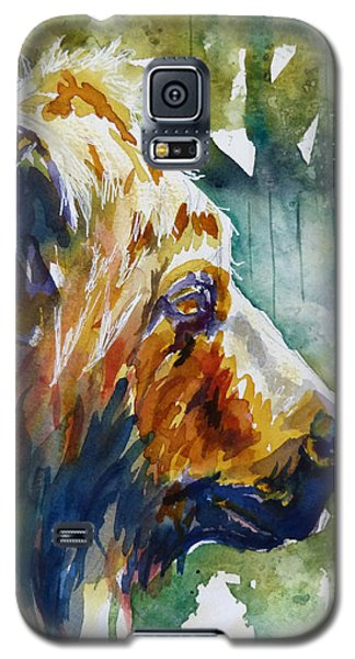Galaxy S5 Case featuring the painting The Old One by P Maure Bausch