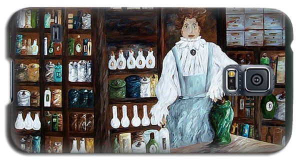 The Old Pharmacy ... Medicine In The Making Galaxy S5 Case by Eloise Schneider