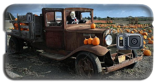 Galaxy S5 Case featuring the photograph The Old Pumpkin Patch by Michael Gordon