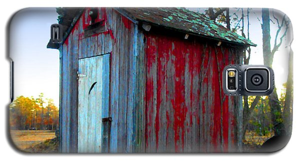 The Old Red Outhouse Galaxy S5 Case