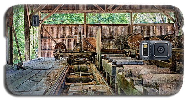 The Old Sawmill Galaxy S5 Case by Betty Depee