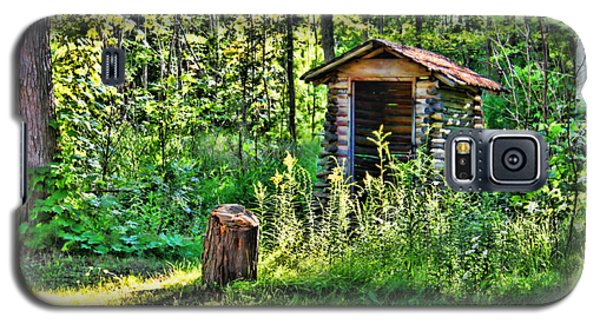 Galaxy S5 Case featuring the photograph The Old Shed by Cathy  Beharriell