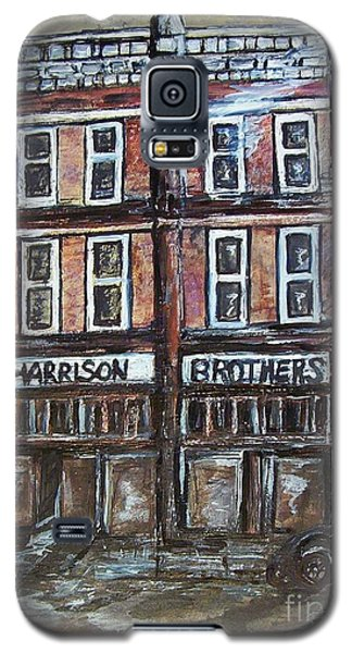 Galaxy S5 Case featuring the painting The Old Store by Eloise Schneider