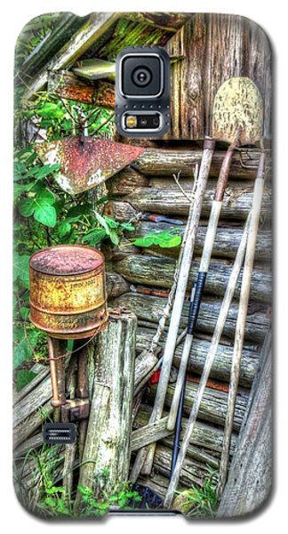 The Old Tool Shed Galaxy S5 Case by Lanita Williams