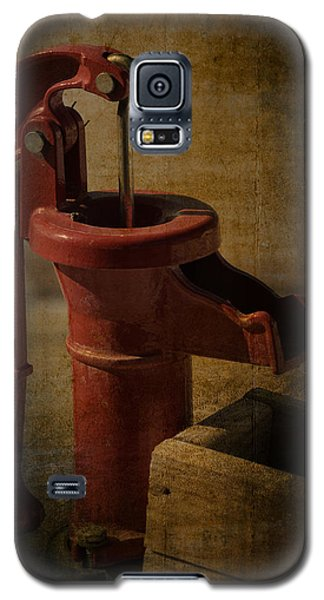 The Old Water Pump Galaxy S5 Case by Lena Wilhite