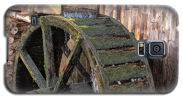 The Old Waterwheel Galaxy S5 Case
