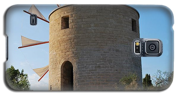The Old Windmill 1830 Galaxy S5 Case by George Katechis
