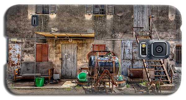 Galaxy S5 Case featuring the photograph The Old Workshop by Uri Baruch