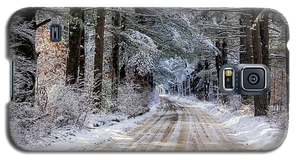 Galaxy S5 Case featuring the photograph The Oldest Road After The Snow by Constantine Gregory