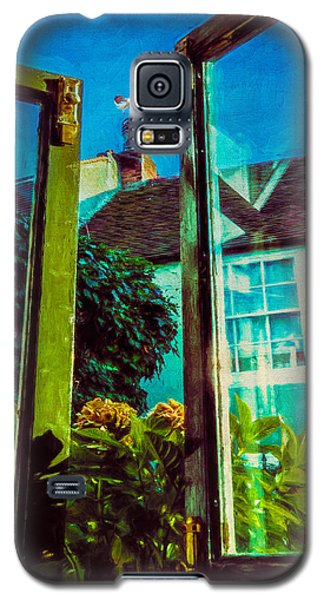 Galaxy S5 Case featuring the photograph The Open Window by Chris Lord