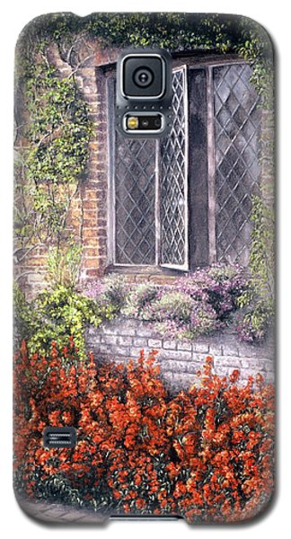 Galaxy S5 Case featuring the painting The Open Window by Rosemary Colyer