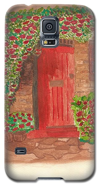 The Orange Door Galaxy S5 Case by Tracey Williams