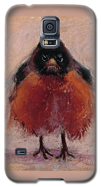 The Original Angry Bird Galaxy S5 Case by Billie Colson