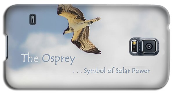 Galaxy S5 Case featuring the photograph The Osprey by DigiArt Diaries by Vicky B Fuller
