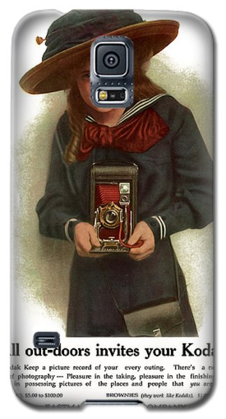 The Outdoor Girl. Circa 1911. Galaxy S5 Case