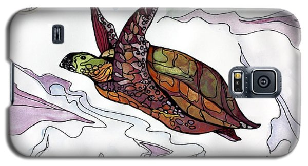 The Painted Turtle Galaxy S5 Case