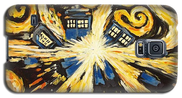 Galaxy S5 Case featuring the painting The Pandorica Opens by Sheep McTavish
