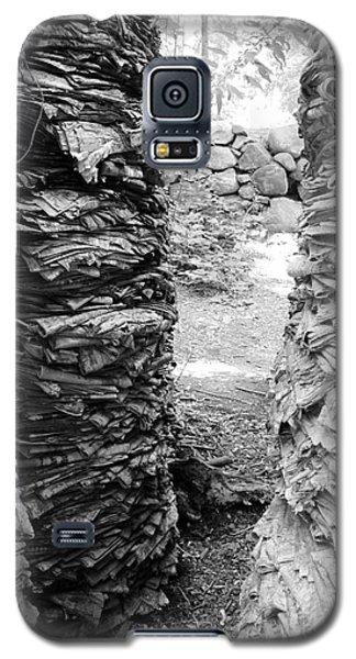 The Paper Crevasse Monochrome Galaxy S5 Case by Barbara Bardzik