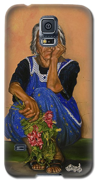 The Parga Flower Seller Galaxy S5 Case