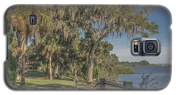 Galaxy S5 Case featuring the photograph The Park by Jane Luxton