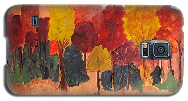 The Pasture In Autumn Galaxy S5 Case by Sandy McIntire
