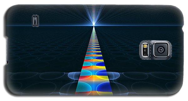 Galaxy S5 Case featuring the digital art The Path Ahead by GJ Blackman