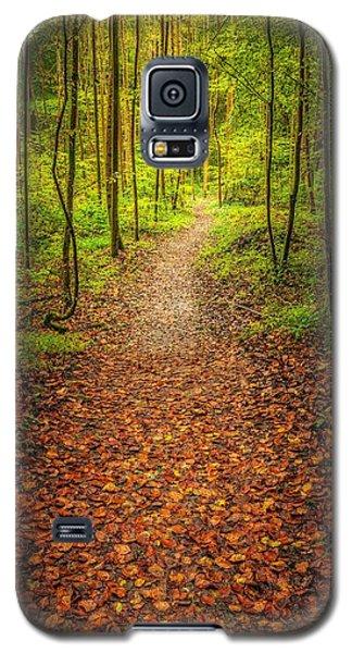 The Path Galaxy S5 Case by Maciej Markiewicz