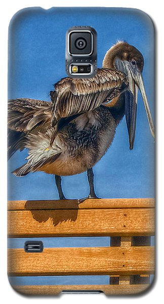 Galaxy S5 Case featuring the photograph The Pelican by Hanny Heim