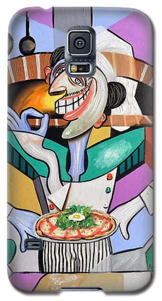 The Personal Size Gourmet Pizza Galaxy S5 Case