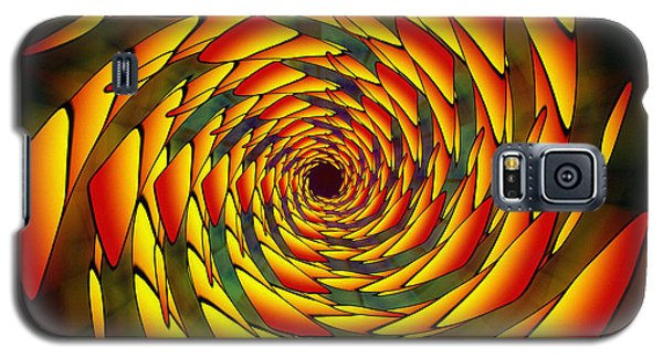 Galaxy S5 Case featuring the drawing The Phi Stargate by Derek Gedney