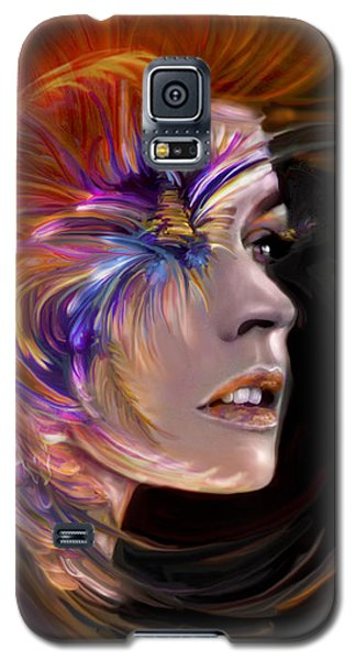 The Phoenix  Fire Flames And Rebirth Galaxy S5 Case