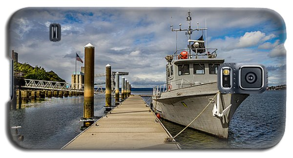 Galaxy S5 Case featuring the photograph The Pier At The Dock by Rob Green