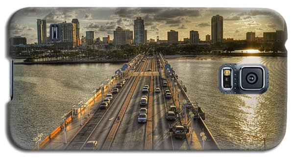 The Pier In Saint Petersburg Florida Galaxy S5 Case by Timothy Lowry