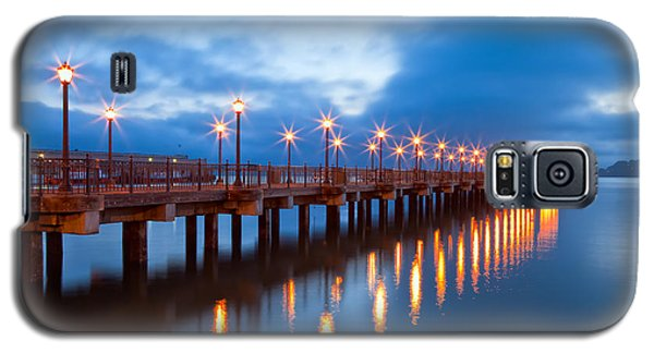 Galaxy S5 Case featuring the photograph The Pier by Jonathan Nguyen