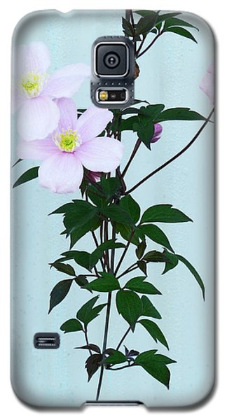 The Pink Clematis Galaxy S5 Case by Steve Taylor