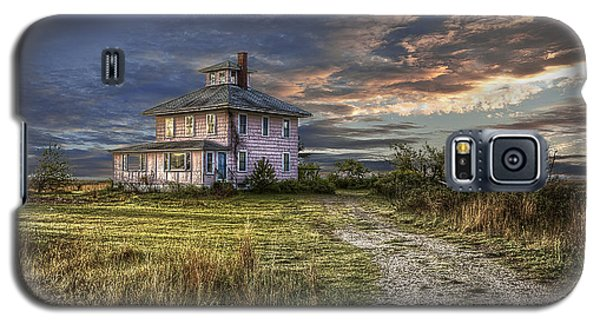 The Pink House - Color Galaxy S5 Case