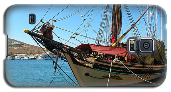 Galaxy S5 Case featuring the photograph The Pirate Ship  by Micki Findlay