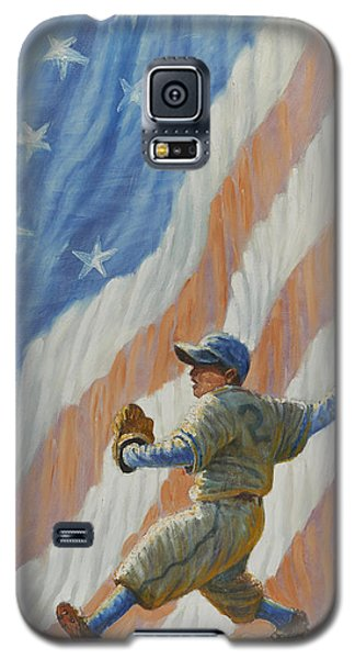 The Pitcher Galaxy S5 Case