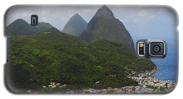 The Pitons And Soufriere Galaxy S5 Case