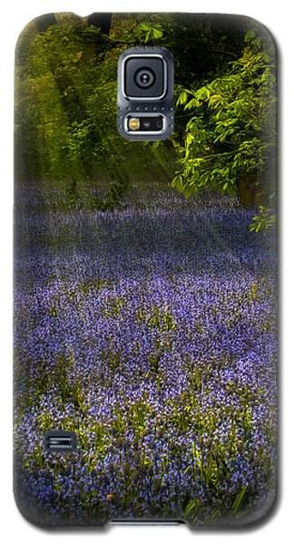 Galaxy S5 Case featuring the photograph The Pixie's Bluebell Patch by Chris Lord
