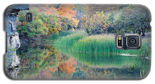 The Pond At Lost Maples State Natural Area - Texas Hill Country Galaxy S5 Case
